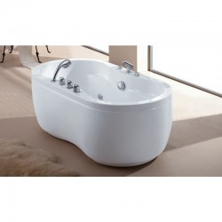Stand Alone Massage Bathtub
