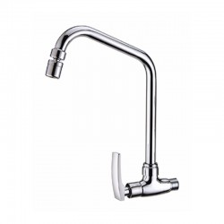 SWIVEL WALL SINK TAP- Sicily Series