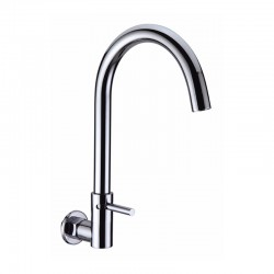 SWIVEL WALL SINK TAP - Pachino Series